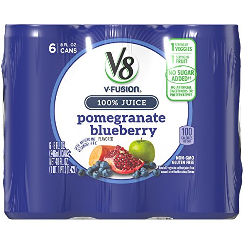 V8 Pomegranate Blueberry, 8 oz. Can (4 packs of 6, Total of 24)