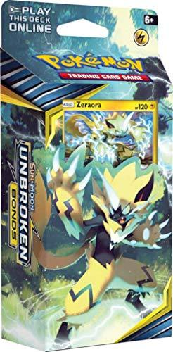 Pokemon TCG: Sun & Moon 10 Unbroken Bonds Theme Deck - Zeraora