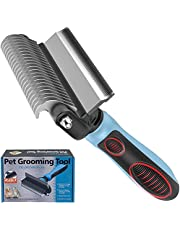 IFAN™ Professional 2-in-1 Pet Comb Cat Brush Dog Brush Cat Grooming Comb Dog Grooming Comb Remove Fleas & Knot-Open & Carding & Flying Hair Removing Tools for Long & Short Hairs Dogs & Cats