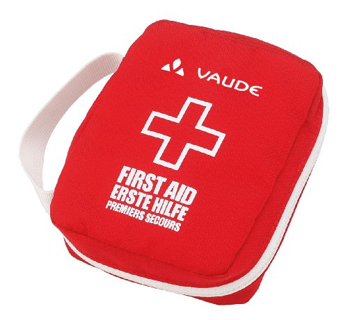 Vaude First Aid Kit Essential Erste-Hilfe, red/White, One size