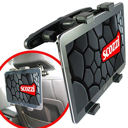 scozzi Tablet Halterung Auto Kopfstütze Rücksitz Halter (universal für 7-11