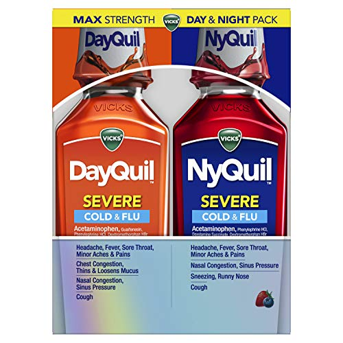Vicks DayQuil and NyQuil SEVERE, Li…