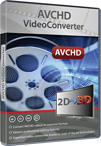 AVCHD Video Converter: Edit and Convert Files from over 50 Formats into any...