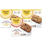 TRY MULTIPLE FLAVORS with our best selling Variety Pack options OR Send to family & friends as Gifts. Contains 2 Nutty Banana Bread, 1 Spiced Carrot Cake Nothing artificial, ever.
