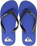 Quiksilver Molokai Youth, Zapatos de Playa y Piscina Hombre, Azul (Black/Blue/Black Xkbk), 39 EU