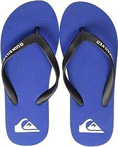Quiksilver Molokai Youth, Zapatos de Playa y Piscina para Hombre, Azul (Black/Blue/Black Xkbk), 39 EU