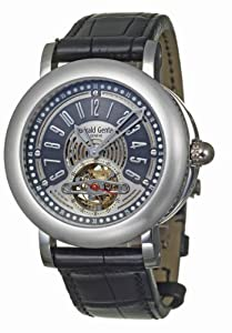 Gerald Genta Arena Tourbillon Men's Automatic Watch ATR-Y-75-913-CN-BD Sale and For Sale and review