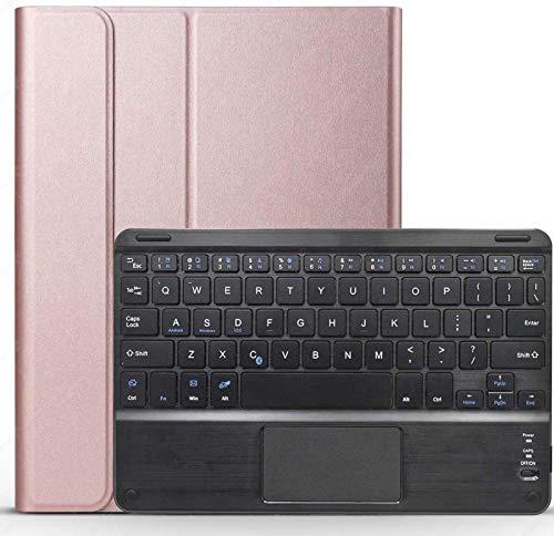 Funda con Teclado Y Panel Táctil para Galaxy Tab S6 Lite 10.4 2020 [SM-P610, SM-P615], Teclado Inalámbrico Desmontable con Cubierta Protectora para Samsung Galaxy Tab S6 Lite 10.4 Pulgadas 2020