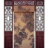 XZPENG - Cortina de partición para puerta, 3 colores, 20 tamaños personalizables, bambú, 1#, 130x220cm