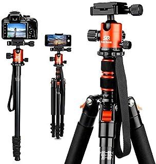 72 inch Elite Series Pro Heavy Duty Convertible Camera Tripod//Monopod Universal Tripod Dolly w// One Step Easy Lock /& Locking Wheels for DSLR Cameras//Camcorders eCostConnection Microfiber Cloth