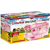 Kaytee CritterTrail One Level Habitat Pink Edition