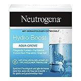 Neutrogena Hydro Boost Gesichtscreme, Aqua Creme mit Hyaluron, ölfrei und parfümfrei, für trockene Haut,...