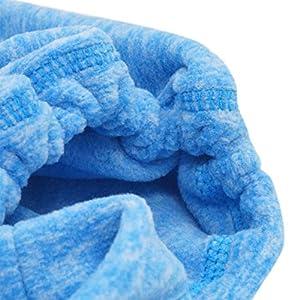 Panegy - Máscara Pasamontañas de Moto Ciclismo para Invierno Forro Polar Bufanda de Cuello Cabeza Antiviento de Esquí Calentador Protector para Unisex Mujer Hombre - Azul