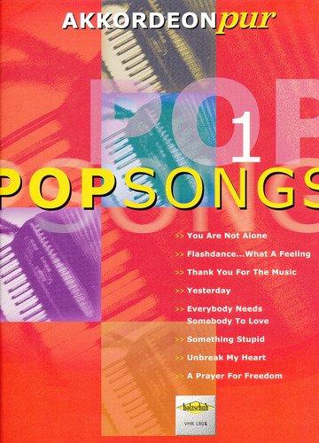 Pop Songs 1 - AKKORDEONpur Hans-Günthert Kölz, Akkordeon