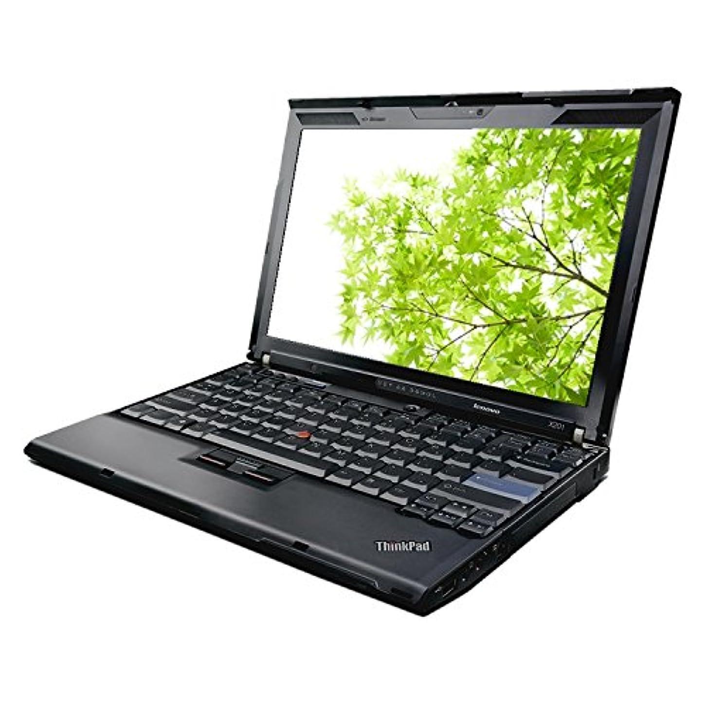 小説家適格ギャップ【中古】 ThinkPad X201i 3626-EC8 / Celeron U3400(1.06GHz) / HDD:160GB / 12.1インチ / ブラック