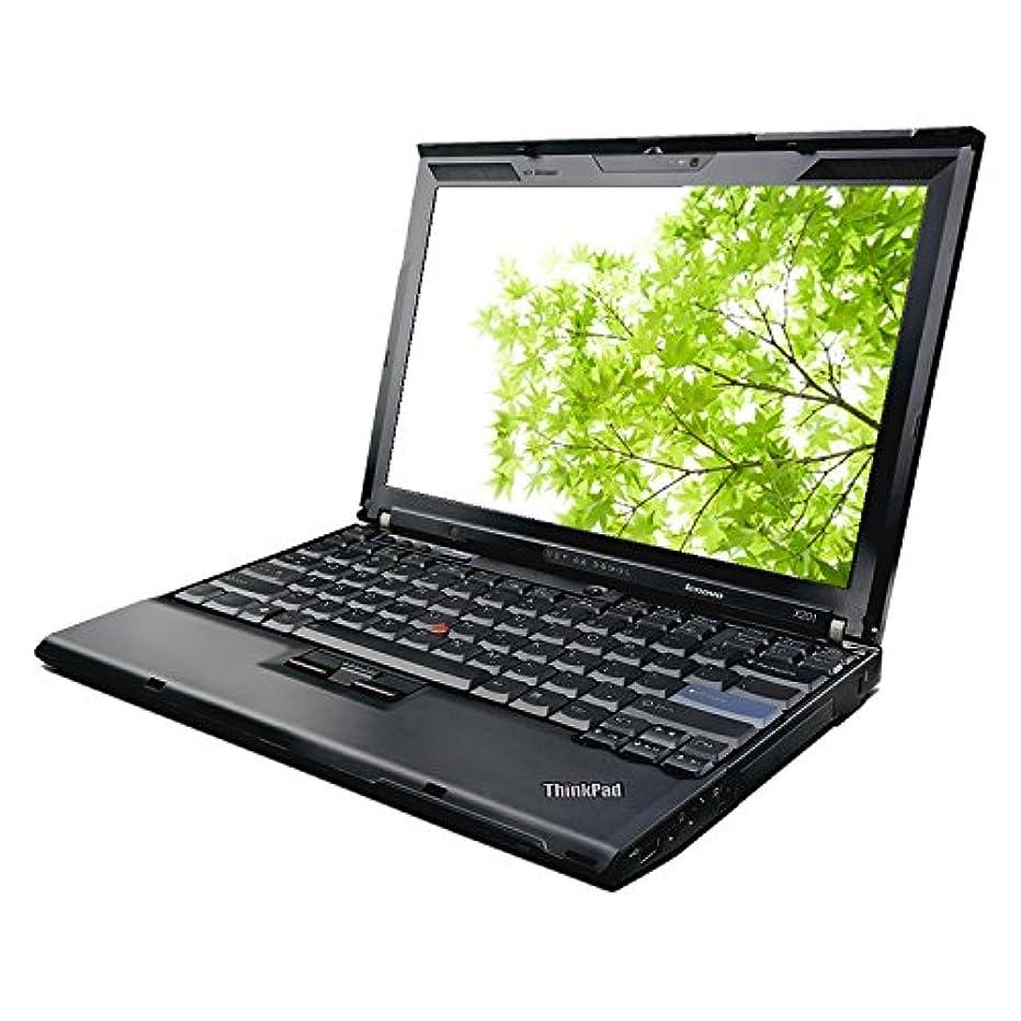 最大限社員ビート【中古】 ThinkPad X201i 3626-EC8 / Celeron U3400(1.06GHz) / HDD:160GB / 12.1インチ / ブラック