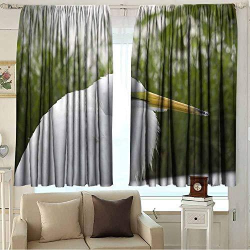 wonderr Decoratieve Gordijnen Voor Living Room Shading isolatie, kabel ring scherm 2 paneel
