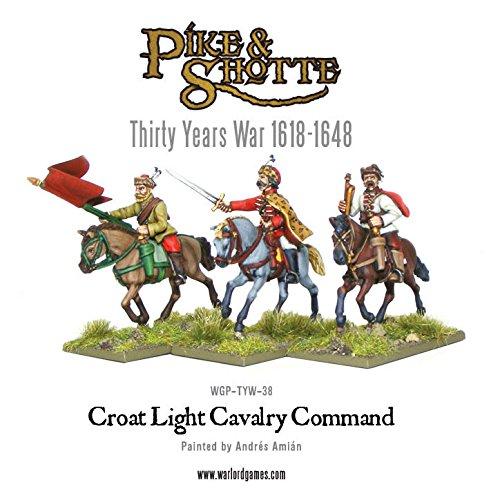 Pike & Shotte - croate cavalerie de commande - WGP.TYW.38 -. Seigneur de guerre Jeux