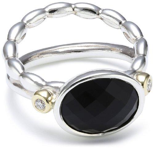 Pandora 190839ON-54 - Anillo de plata con diamante, talla 14 (17,2 mm)