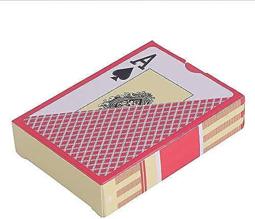 DEH Durable a Prueba de Agua. Tipo de exfoliación de PVC. Cartas de plástico. Novedad. Tarjeta de póker.