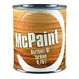 McPaint Hartholzöl für den Außenbereich, speziell für Möbel, zum natürlichen Auffrischen des...