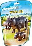 Playmobil Vida Salvaje- Hipopótamos Animales, Multicolor, 8 x 24,6 x 16,9 cm (Playmobil...