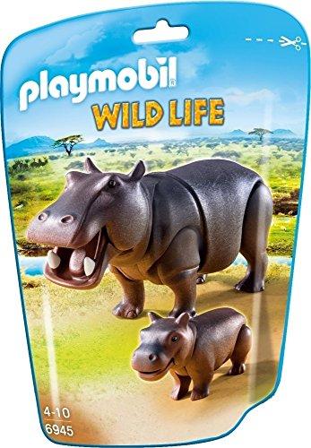 Playmobil Vida Salvaje- Hipopótamos Animales
