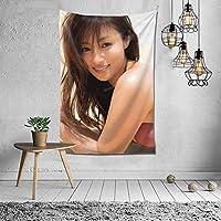 深田恭子 タペストリー 壁掛け ポスター 背景布 壁飾り 家 リビングルーム ベッドルーム 部屋 おしゃれ 100*150cm