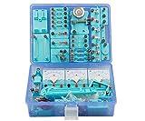 robots master Simple Equipo de Experimento de física de la Escuela Secundaria Junior Conjunto Completo de Caja de experimentos eléctricos