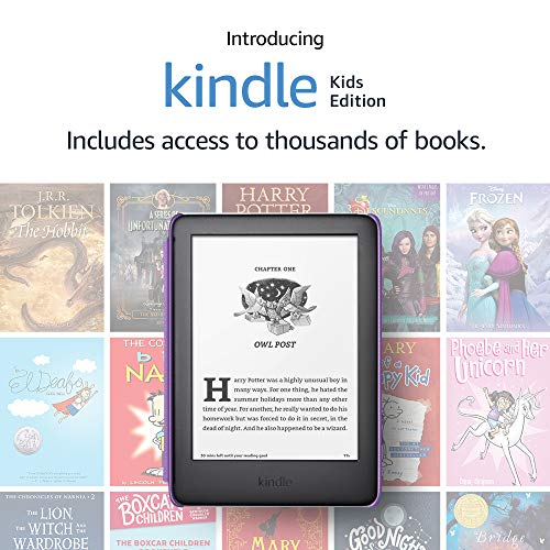 Kindle Kids Edition, a Kindle designed for kids, with parental controls - Rainbow Birds Cover
