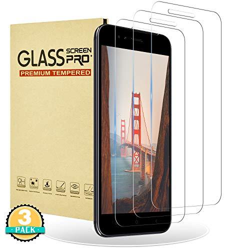 RIIMUHIR Protector de Pantalla para Xiaomi Mi A1,[3 Unidades] Cristal Templado para Xiaomi Mi A1 [Cobertura Completa] [Dureza 9H] [Anti-Arañazos] [Anti Huellas Digitales]