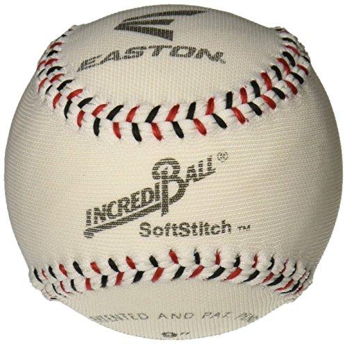 ragballs a122305t Incrediball Polyester Baseball, Foam Core, 22,9cm Größe, weiß