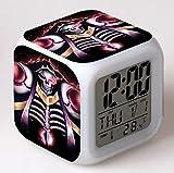 huangyung Infierno Reloj Despertador Digital con luz, Reloj...