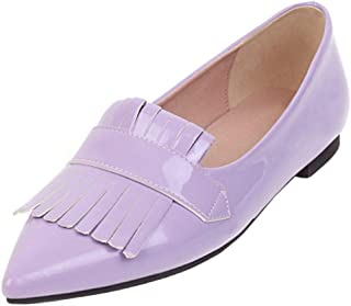 Nonbrand TAONEEF Women Daily Flat Mules Pointed Toe