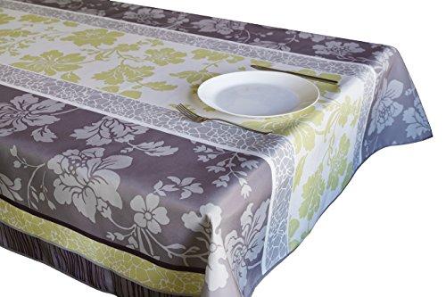 CIRAD Tischdecken Green Winter schmutzabweisend Farben im Frühjahr Dekoration 200 x 150 cm