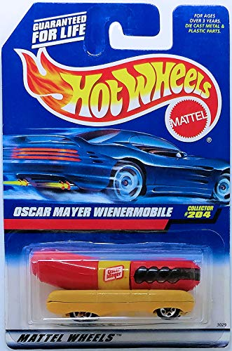 Hot Wheels OSCAR MAYER WIENERMOBILE #204 Rare Collector Scale 1/64 Collector