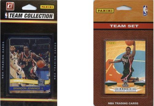 NBA Milwaukee Bucks 2 Verschiedene lizenzierte Sammelkarten-Team-Sets
