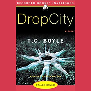 Drop City audiobook cover art