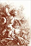 Poster 100 x 150 cm: Badende Engel von François Boucher -