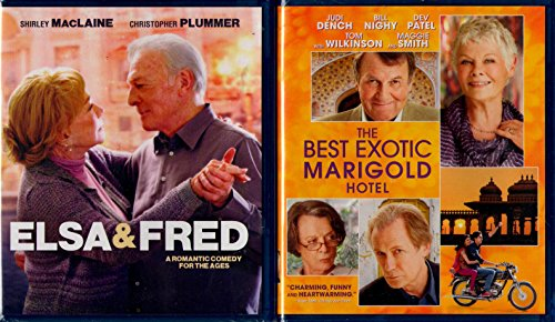 The Best Exotic Marigold Hotel , Elsa & Fred : Senior Romantic comedy 2 pack Blu-ray