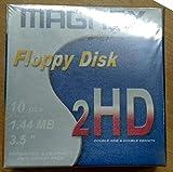 FLOPPY DISK 1,44MB HD MAGNEX FORMATTATI CONFEZIONE DA 10 UNITA'...