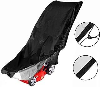Mioloe Cubierta Universal para cortacésped Impermeable, Premium Heavy Duty Fabricante Garantizado para el Clima y Cubierta con protección UV para cortacéspedes de Empuje