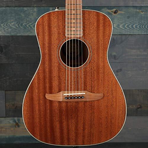 Fender Malibu Special - Tabla de dedo con funda, color caoba