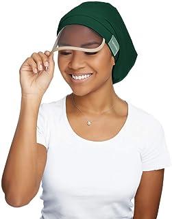 Hairbrella Women's Rain Hat, Waterproof, Sun Protection, Satin-Lined, Packable