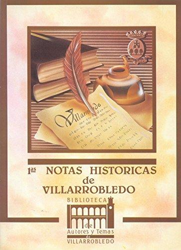 Primeras notas históricas de Villarrobledo