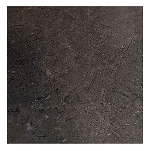 "EZ FAUX DECOR Marble Self Adhesive Granite Matte Gray Soapstone Kitchen Countertop Cabinet Furniture Instant Update. Easy to Remove Thick Waterproof PVC Vinyl Laminate Film. Why Paint? (36"" x 144"")"