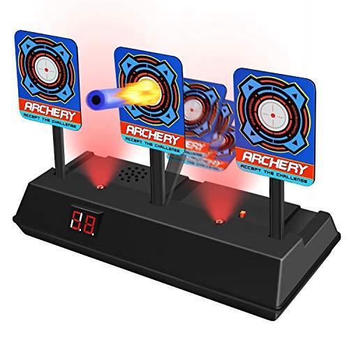 ATOPDREAM Nerf Zielscheibe Digital,Nerf Zubehör Spielzeug ab 4-12 Jahren Nerf Gun Kinderspiele ab 4-12 Jahren Geschenke für Kinder 4-12 Jahre Nerf Pistole Shooting Target Nerf