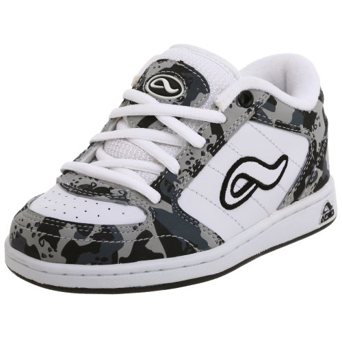 Adio Little Kid/Big Kid Hamilton Sneaker,White/Grey/Black,6 M US Big Kid