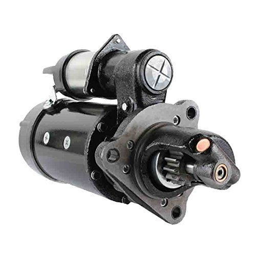 Complete Tractor New 3800-0102 Starter Compatible with/Replacement for Agco 9435, 9455, 9635, 9655, 9675, 9695, 9755, 9765, 9775, 9785, 9815, DT160, DT180, DT200, DT225 72506411, 737901, 737901-9