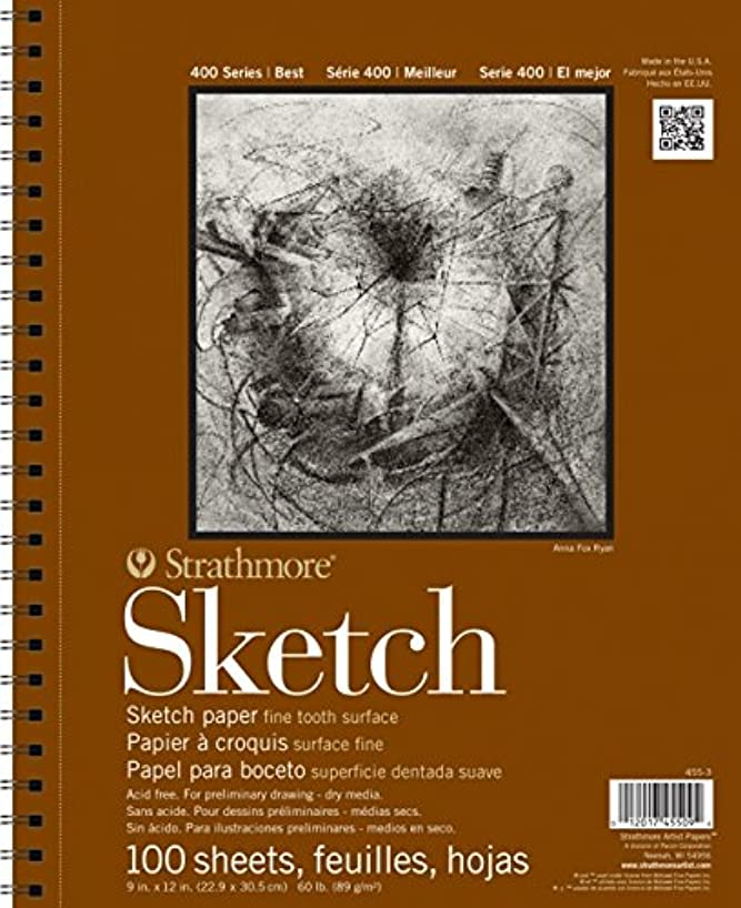 Strathmore 455-11 400 Series Sketch Pad, 11